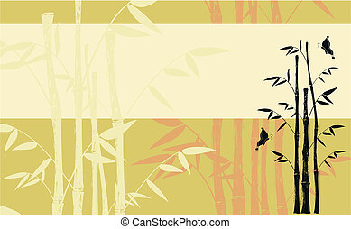 bamboo background06 - bamboo background in vector format