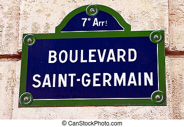 bulevar, Saint-Germain