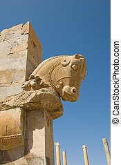 Ruins of ancient city of Persepolis