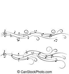 foglio, musica