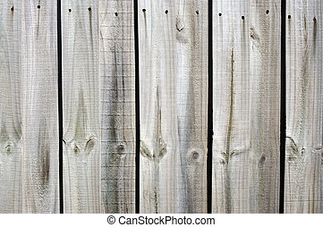 Wooden fence background - Closeup of the wooden fence...