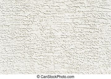 White Stucco Wall - Background texture of a white painted...