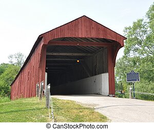 Covered bridge - Westmontrose