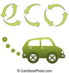 Eco friendly electric car