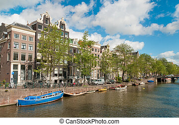 Amsterdam Canal - A Canal in Amsteerdam