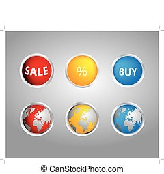 special buttons for your website