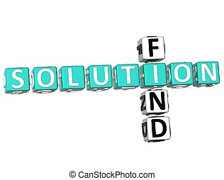Find Solution Crossword