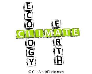 Ecology Climate Crossword
