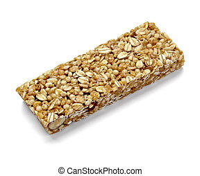 cereal bar healthy food nutrition - close up of a cereal bar...