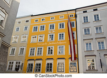 Birthplace of Mozart, Salzburg - Birthplace of Wolfgang...