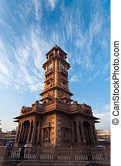 Clock Tower Sardar Market - A crisp beautiful morning at the...