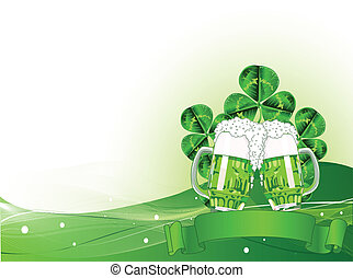 St. Patricks Day Celebration Backg