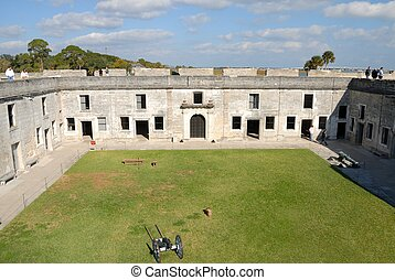Castillo de San Marcos - Castle of San Marcos historic St....