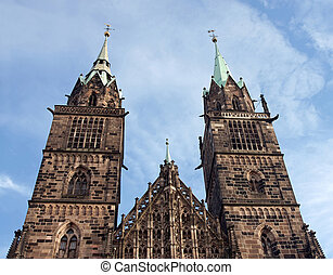 St. Lawrence Church situated in Nuremberg, Germany