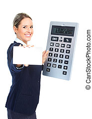 Accountant business woman