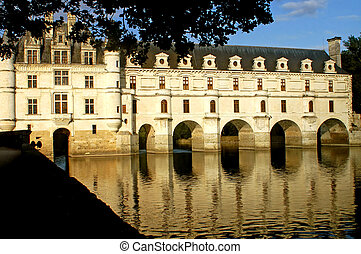 The castle of Chenonceaux - France