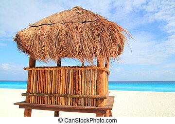 baywatch wood brown house in Cancun sunroof - baywatch wood...