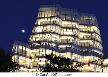 IAC Building - IAC building on the west side of Manhattan in...