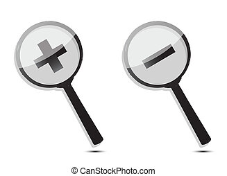 magnifiers icons