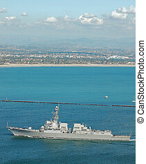 The USS Wayne E. Meyer (DDG-108) - The USS Wayne E. Meyer,...