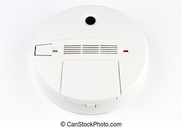 Carbon Monoxide Detector - Battery powered alarm device to...