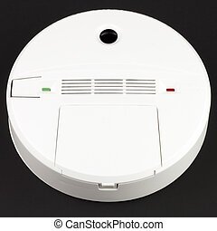 Carbon Monoxide Alarm - Battery powered alarm device to warn...