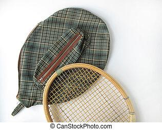 tennis racket - old tennis racket...