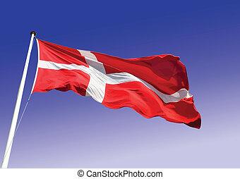 Zipper open Sweden flag