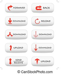 Website download buttons