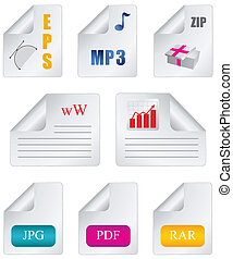 Document icon file extension