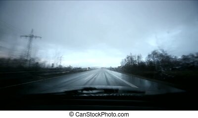 Driving With Bad Weather