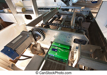 Packaging machine parts - Details of a packaging machine for...