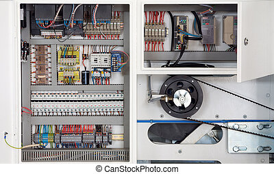 Machine electronics - Central part of a machine Electronics...