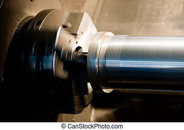 Machine parts - Roller part of a machine for producing tools...