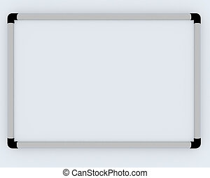 White office presentation board