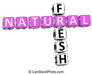 Natural Fresh Crossword
