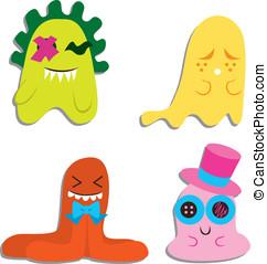 Cute Blobby Monsters