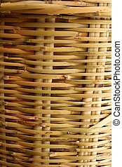 handcraft mexican cane basketry vegetal texture