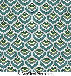 seamless peacock arabesque vector