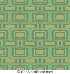 seamless green groove pattern