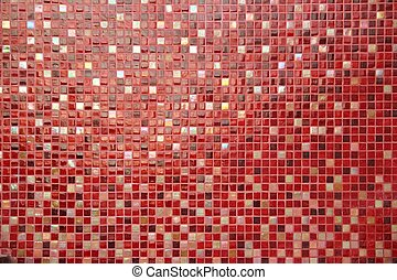ceramic glass colorful tiles mosaic composition pattern...