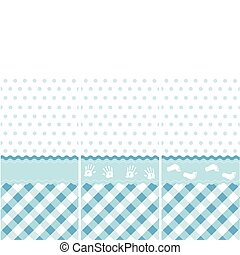 seamless baby boy pattern
