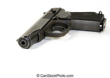 ruso, pistola, Makarov, 9 Mm