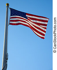 americano, bandiera