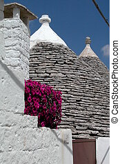 Trulli houses in Alberobello