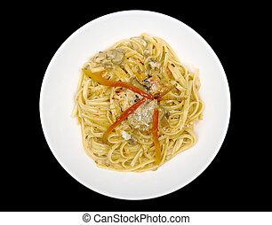 Fettuccine with Chicken