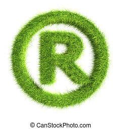 Grass registered trademark symbol