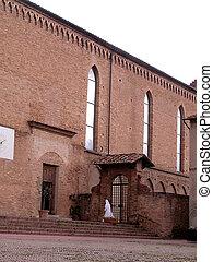 Nun enter in the church