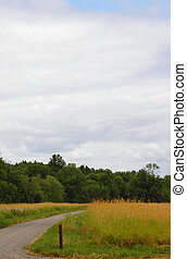 Clouds above the Ridgefield National Wildlife Refuge - Auto...