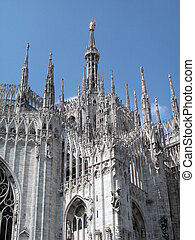 Gothic cathedral of Milan